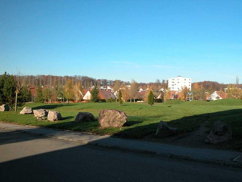 Terrain de convivialité de la Beaudenotte - 14-11-2008