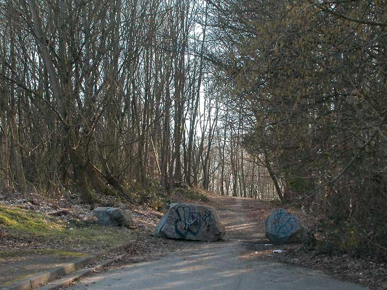 Chemin et carrière du Gayeton - 28/02/2009