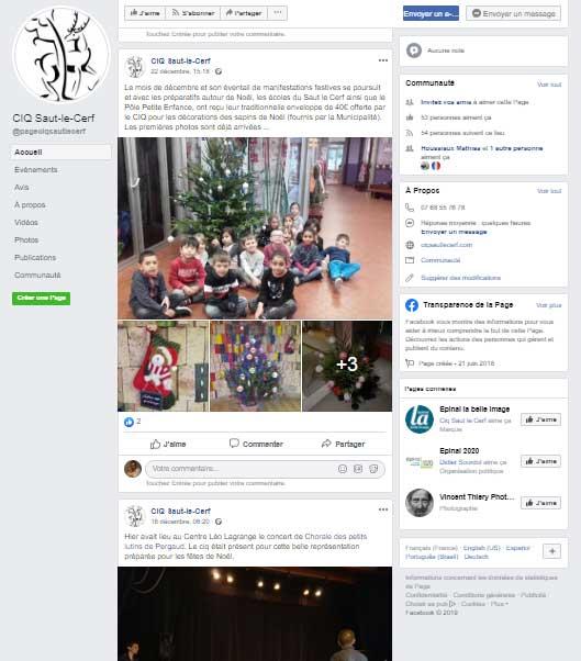 facebook ciq saut le cerf